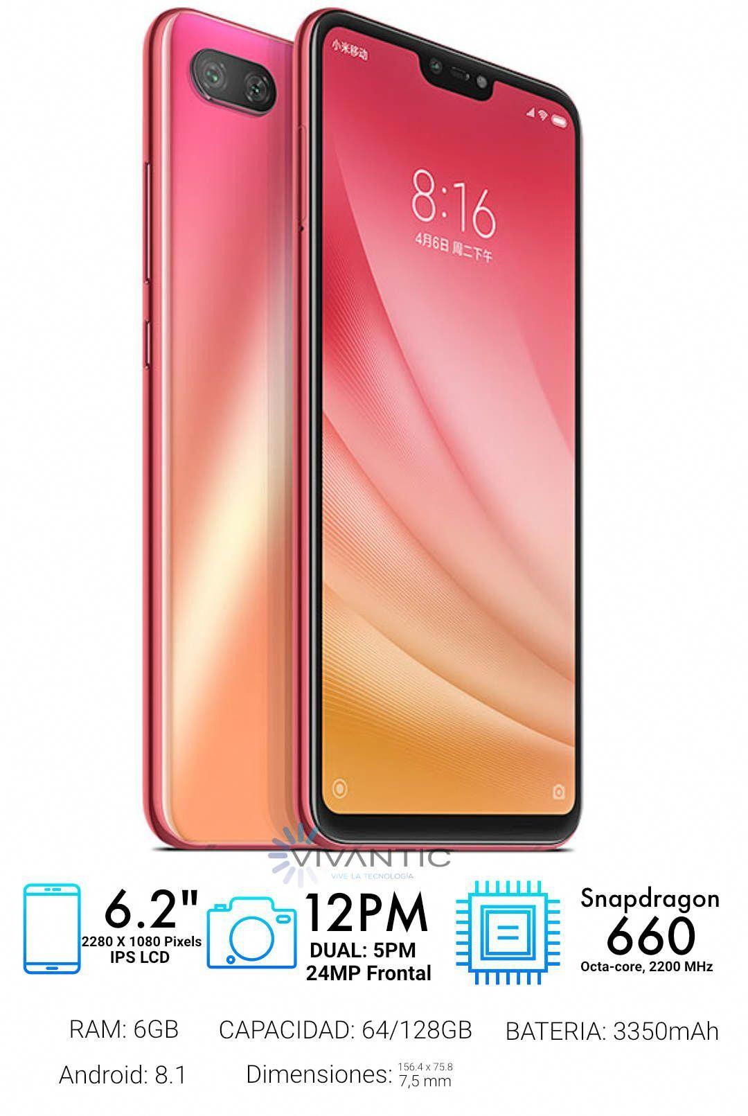 La Version Ligera De Mi 8 Con Caracteristicas Reducidas Pero Con Mejoras En La Camara De Retratos Conn Sensor De Sony T Mobile Phones Phone Latest Cell Phones
