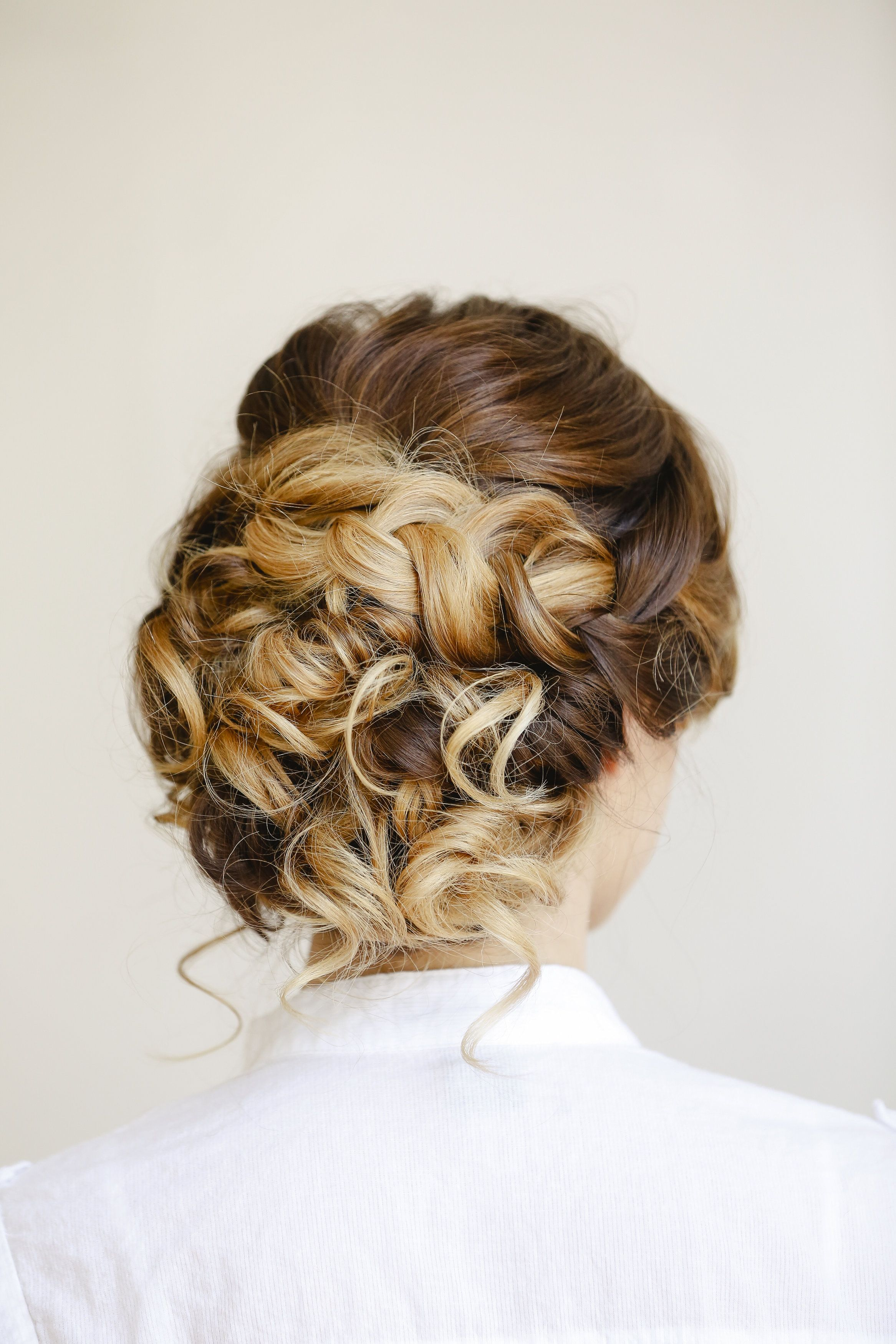 ombre wedding hair. updo's on ombre hair are some of my faves
