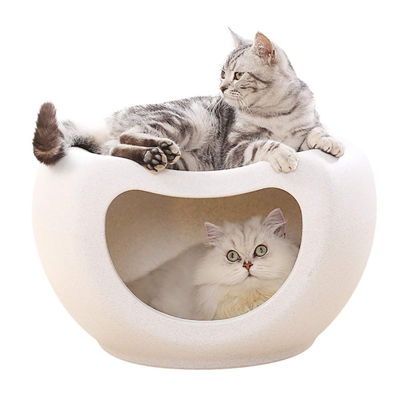 Uheng Pet Dogs Cats Bed Cave Tent House Nest Home Sleeping Bag Tunnel For Kittens Seat Place Stool 19x12x11 Inch Sincerely Hope Th Cat Bed Pets Pets Cats