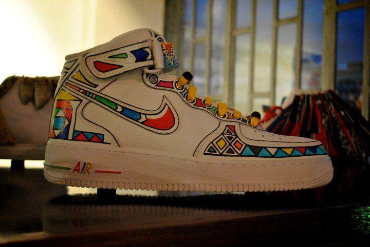 Ndebele For NikeSneakersFashion Men Sneakers NikesShoes redCBxo