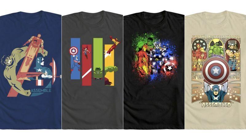 Tops & Tees 2018 Hottest Avengers Marvel T Shirt Classic Comic Mens Summer Fashion Tops Streetwear Superhero Tshirt Infinity War Superman