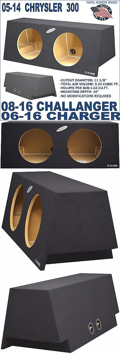 Speaker Sub Enclosures Dodge Charger 06 16 Challenger 08 16 And Sub Box Subwoofer Enclosure Ground Shaker Buy It Subwoofer Enclosure Dodge Charger Sub Box