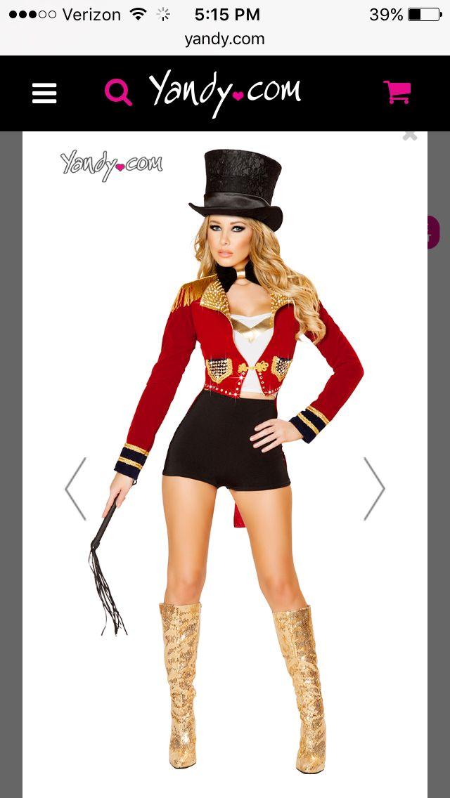 Ring Leader by Yandy disfraz de circo Pinterest Halloween - sexy halloween decorations