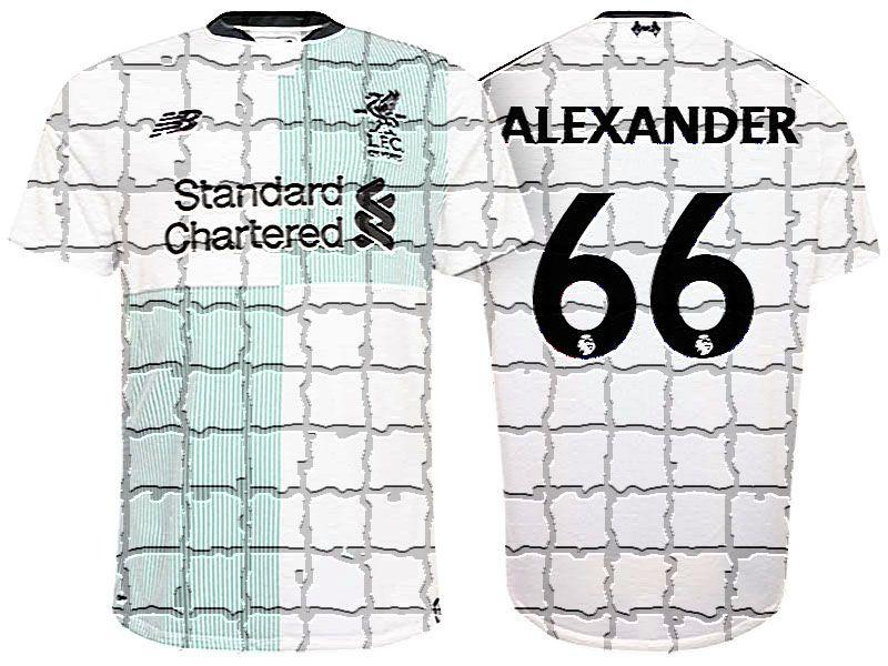 outlet store 84d8d 2b7b4 Liverpool Jersey Kit For Cheap 17-18 Away trent alexander ...