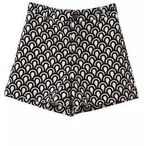 Chicnova Fashion Fish Scale Print Shorts