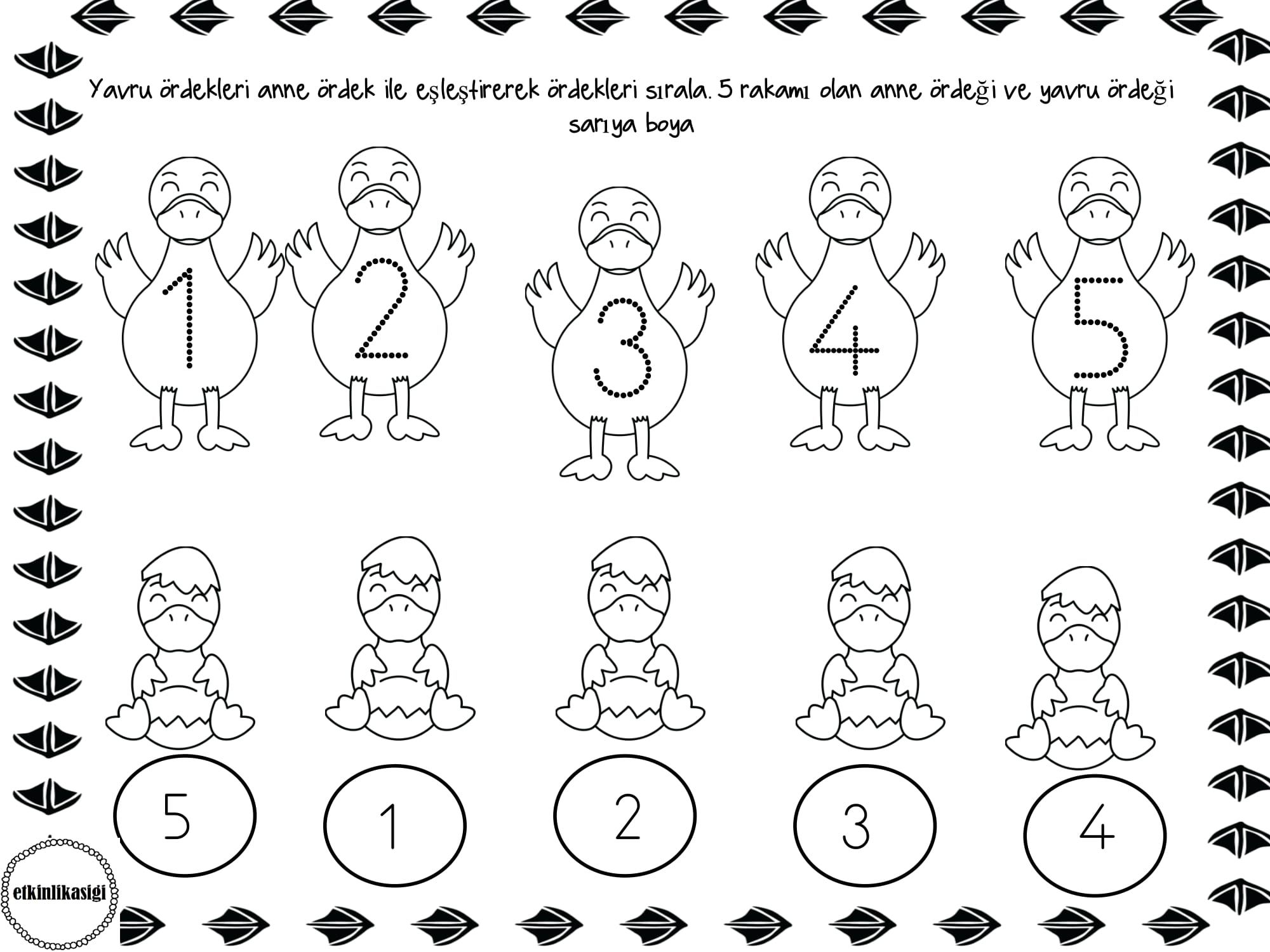 Dibujos Para Esquinas De Hojas: Pin De Carina Sir Balsa En Numbers To 5