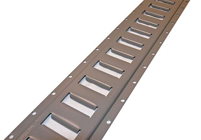 10x 5 U0026 39  E Track  Horizontal Grey  For Enclosed Trailer