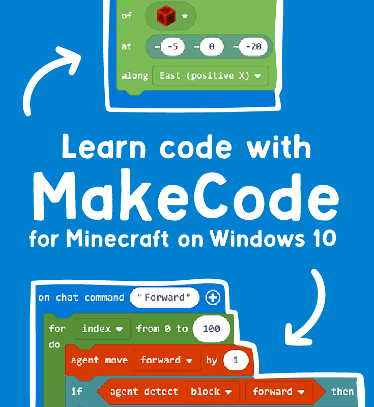 Microsoft MakeCode is a free, open source Block and