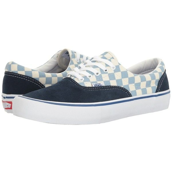 98617c924b Vans Era Pro ((Checkerboard) Dress Blues Marshmallow) Men s Skate ...