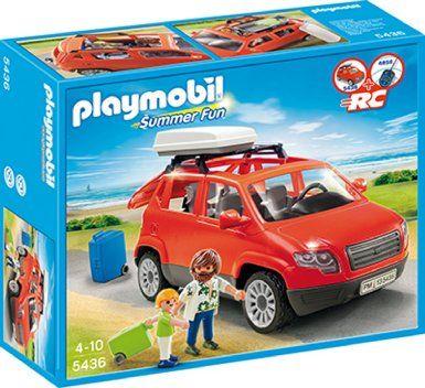 Playmobil 5436 Voiture avec coffre de toit: Amazon.fr: Jeux et Jouets