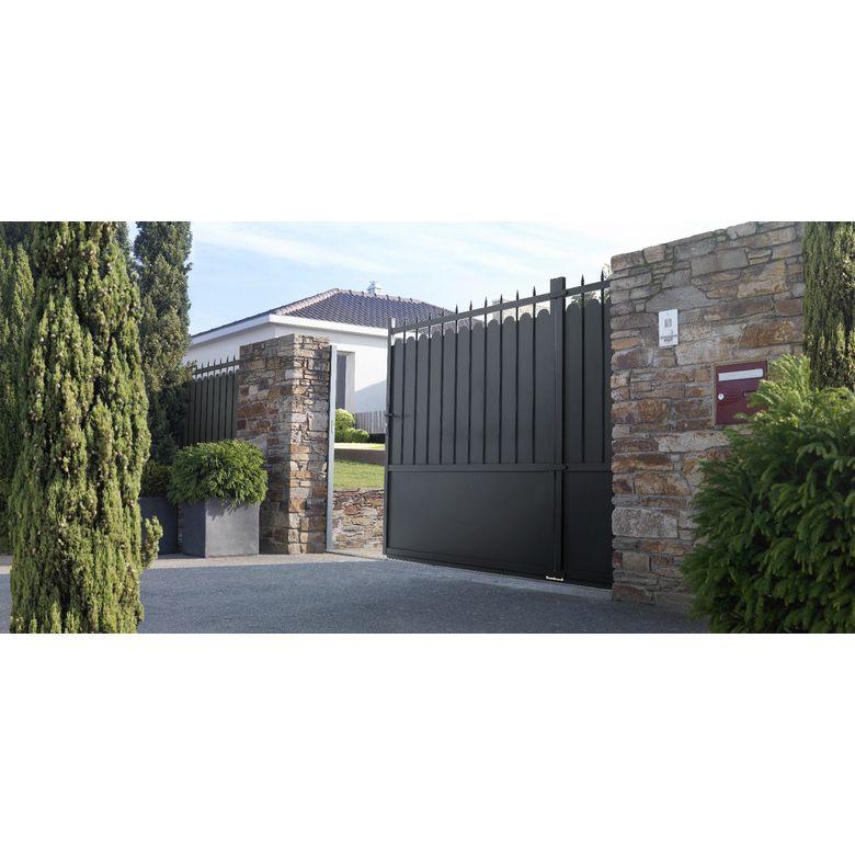 les diff rents types d 39 ouverture de portail jardin. Black Bedroom Furniture Sets. Home Design Ideas