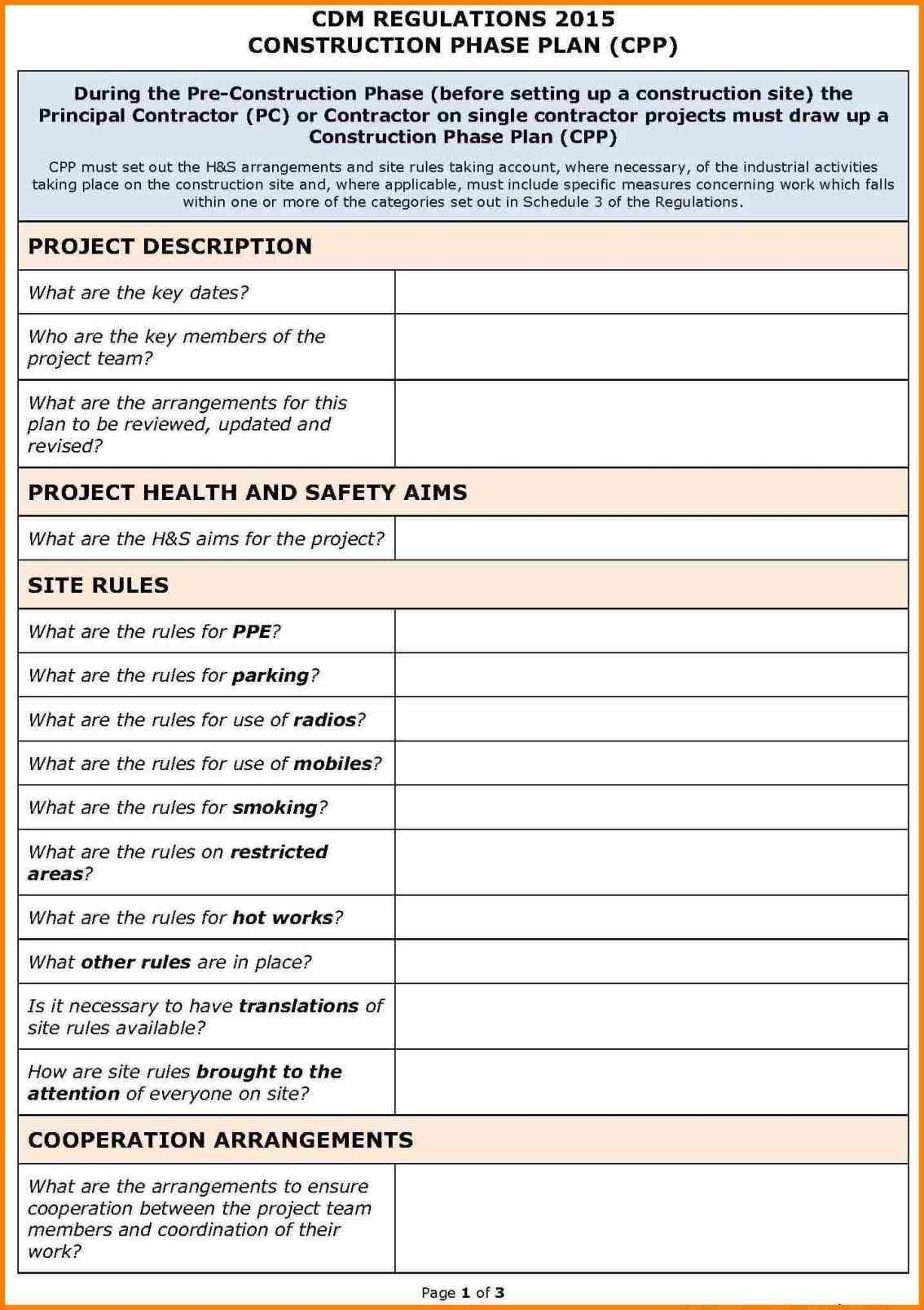 Planning Download Pdf Plan Template Meal Spreadsheet Construction Construction Safety How To Plan Elementary Lesson Plan Template Simple Business Plan Template Site specific safety plans template