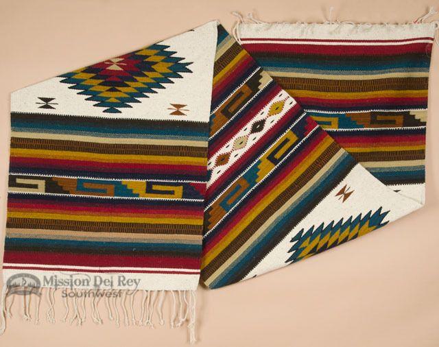 Hand Woven Wool Zapotec Floor Runner Rug