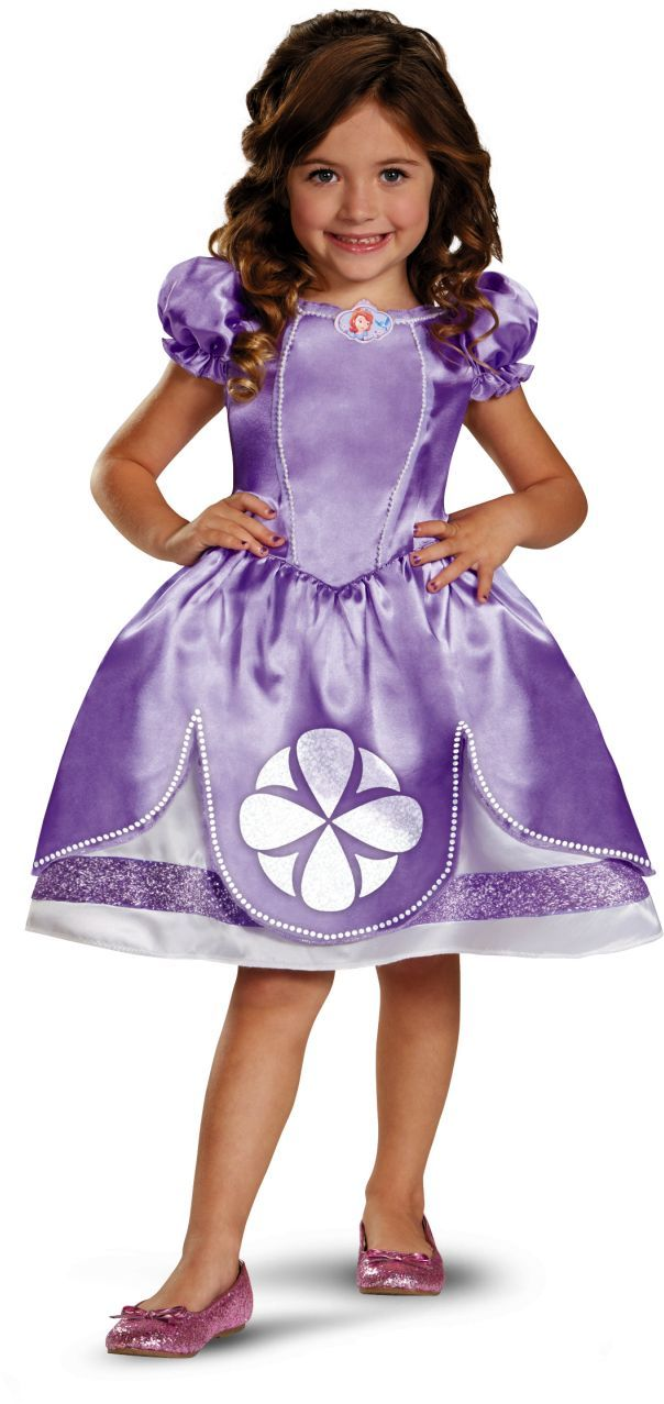 Sofia the first costume for girls | Fiestas - infantiles | Pinterest ...