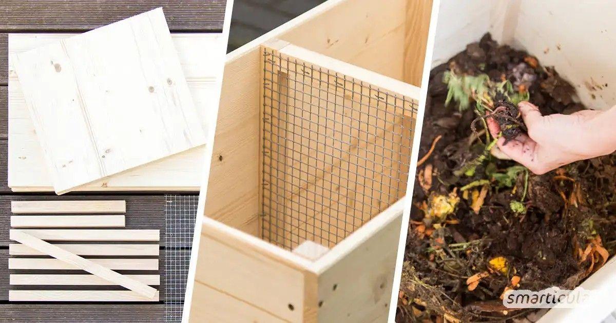 Pin Von Annett Baer Auf Pflanzideen In 2020 Wurmkiste Wurmkompost Kompostieren