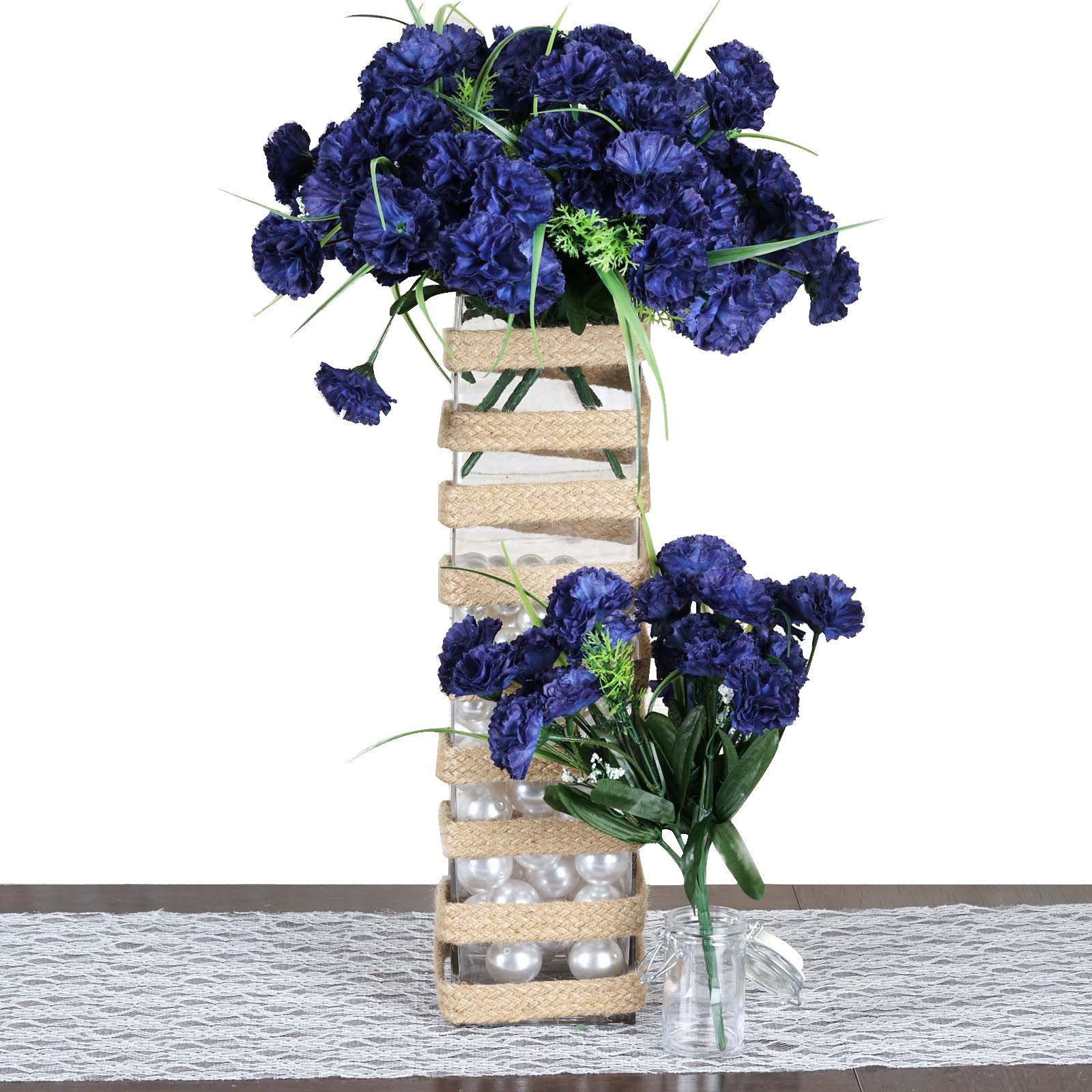 252 Carnation Flowers Navy Blue Carnation Flower Artificial Flowers And Plants Mini Carnations