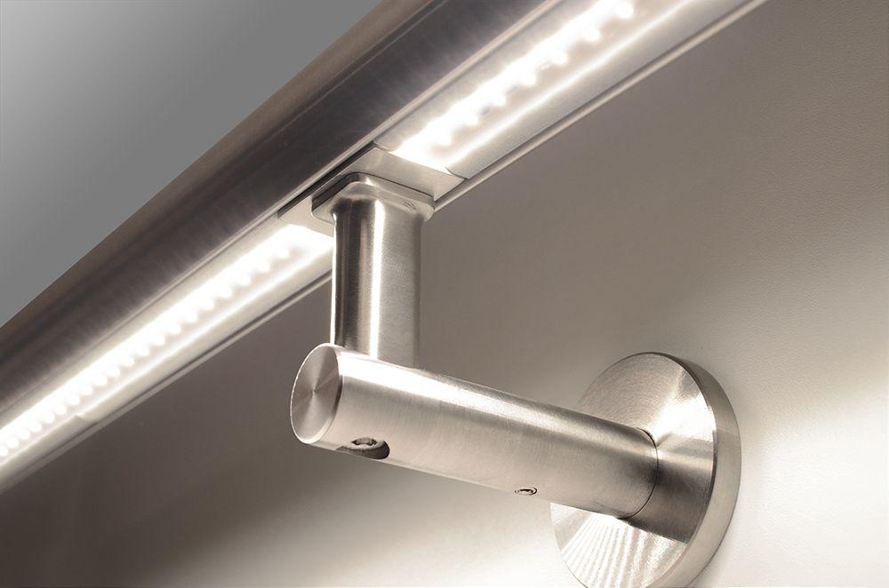 Verlichte trapleuning LED ILLUNOX | Trappen | Pinterest | Handlauf ...