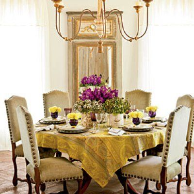 Inspiring Southern Table Setting Ideas  Table Settings Southern Prepossessing Dining Room Table Setting Ideas Inspiration Design