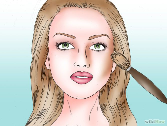 Make a Round Face Appear Thinner Step 1 Version 2.jpg