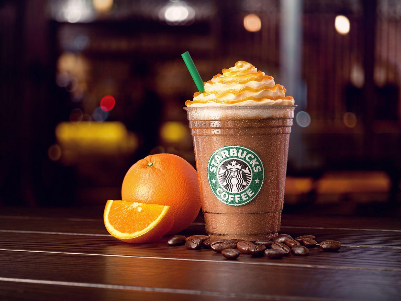 Starbucks Iced Orange Mocha on Behance Mocha, Starbucks