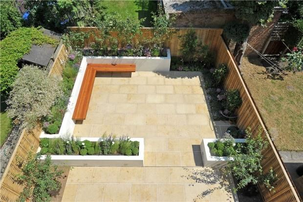 Stylish Low Maintenance Garden Plan For Small Space Garden