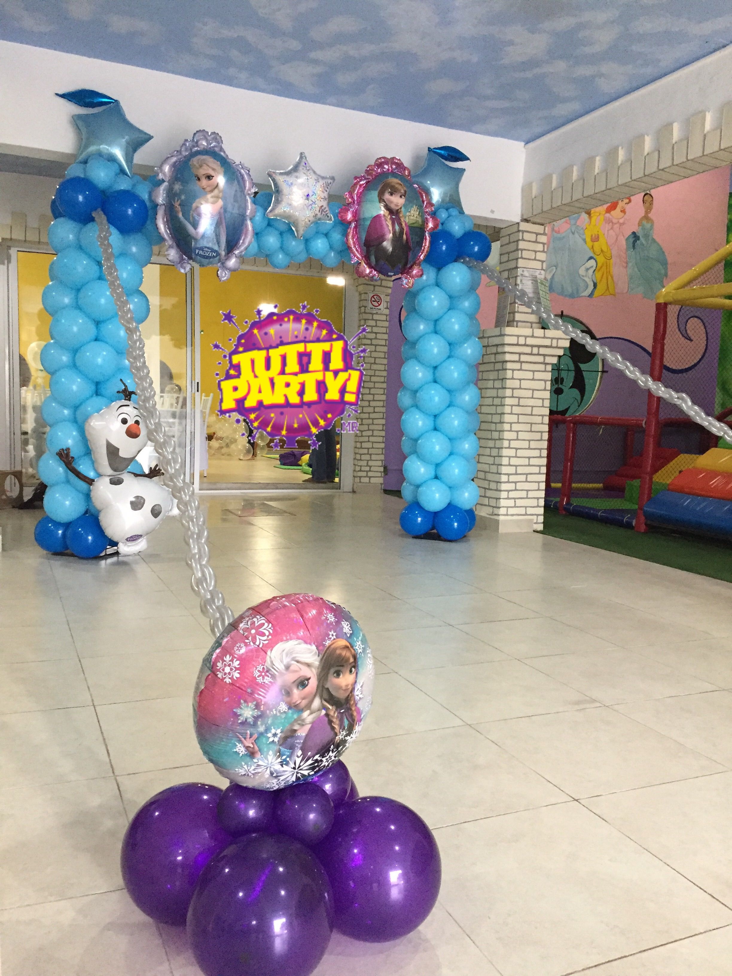 Party balloons decorations - Frozen Party Balloons Archivo Frozen Decorations Frozen Party Ideas Tuttiparty Party Store