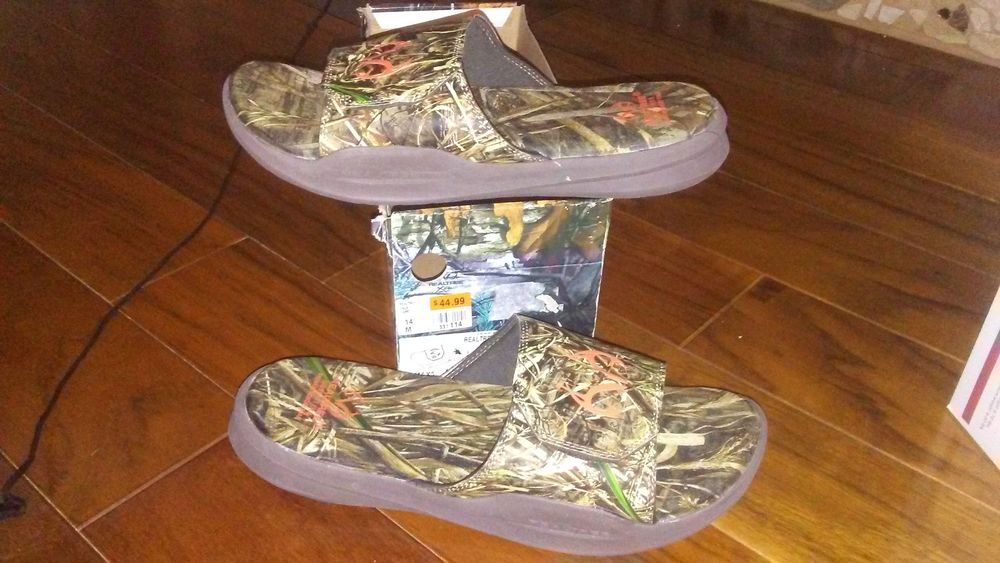 992d98e16f0e2 NEW $44 Mens Realtree Outfitters Zack Slides Sandals size 14 shoes #fashion  #clothing #shoes #accessories #mensshoes #sandals (ebay link)
