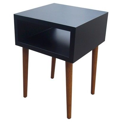 Room Essentials™ Mid Century Modern Accent Table   Black