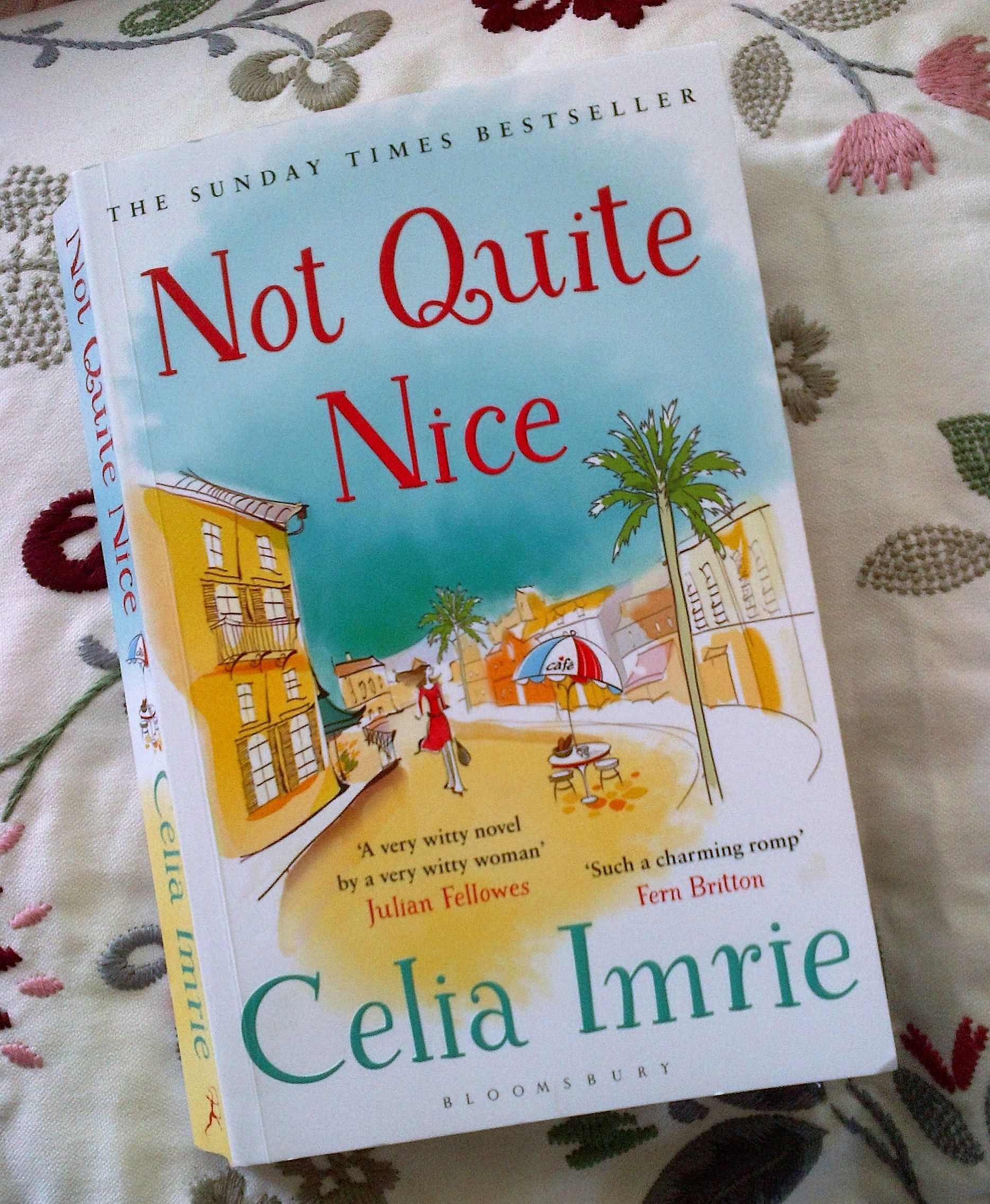 I didn't know Celia Imrie was a writer, too. I love her as an actress and couldn't wait to see what her writing style was. I am a little disappointed, though. Nothing special, just a mixture of characters and lies and discoveries, like a Shakespearian comedy without the superb language. Nevertheless, I am going to read her autobiography next. I'm giving her another chance ;)