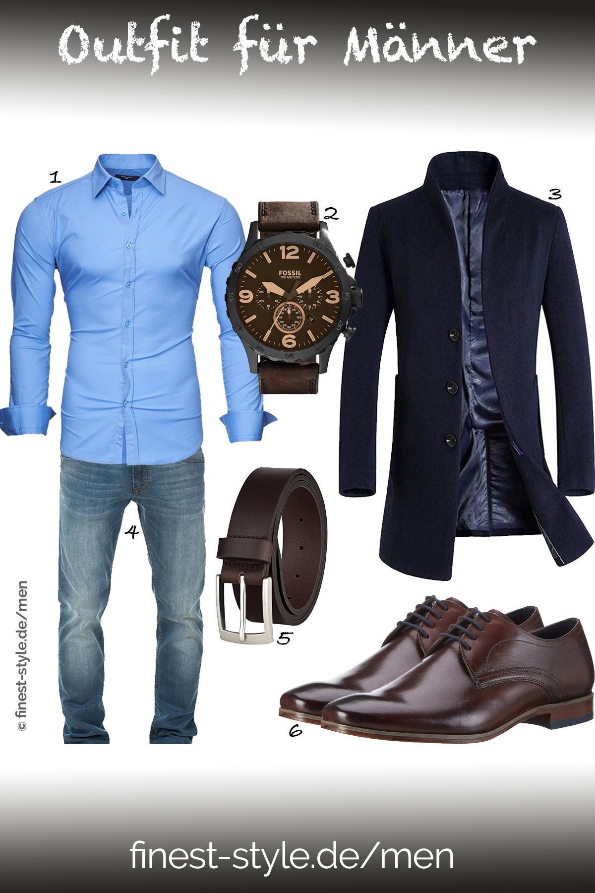 b408cc95c5075e Outfit für Männer mit Einzelteilen von Kayhan, Fossil, Bugatti ...