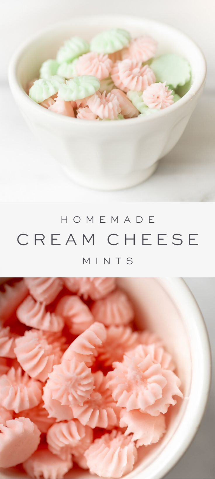 Delicious Old-Fashioned Cream Cheese Mints | Julie Blanner