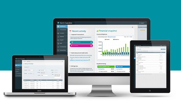 Free Invoicing Accounting Receipts And More With Wave Online In 2020 Small Business Software Business Software Small Business Accounting