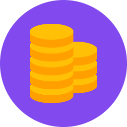 Free Coins Flat Icon Download Free Icons For Commercial Use Coin Icon Free Icons Icon Download Free