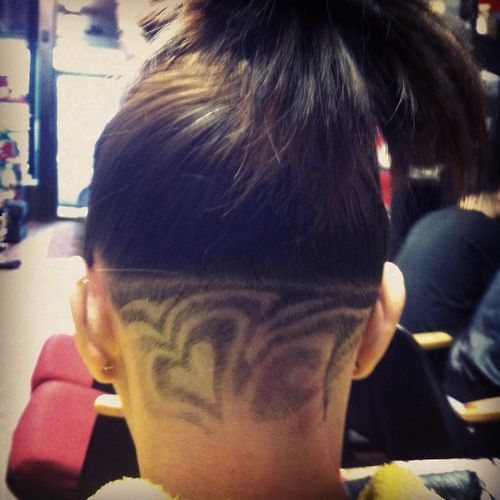Weed Shaved Hair Designs | under shave haircut designs for ...