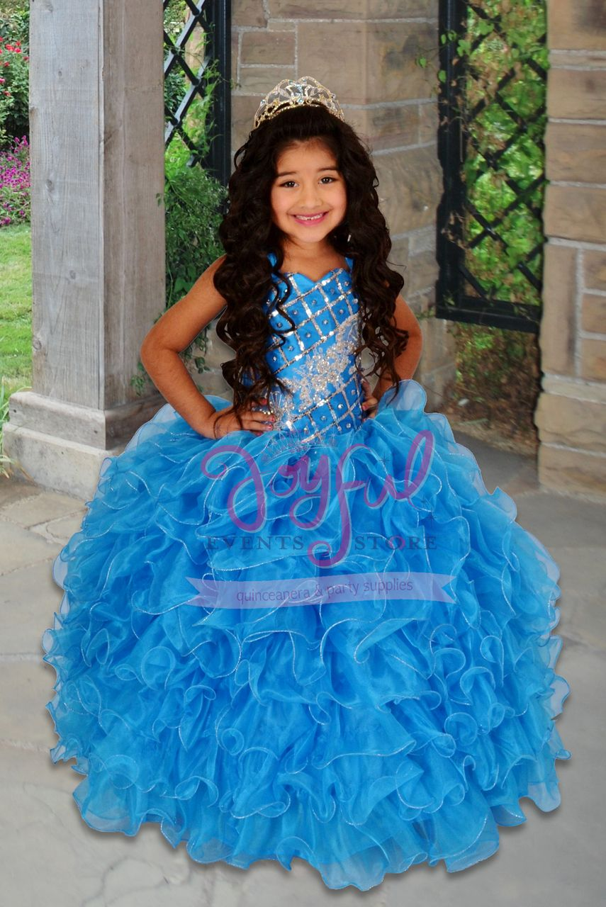 6d4b61425 vestidos de nina charra para presentacion de 3 anos FLOWER GIRL DRESS   FGD030BL