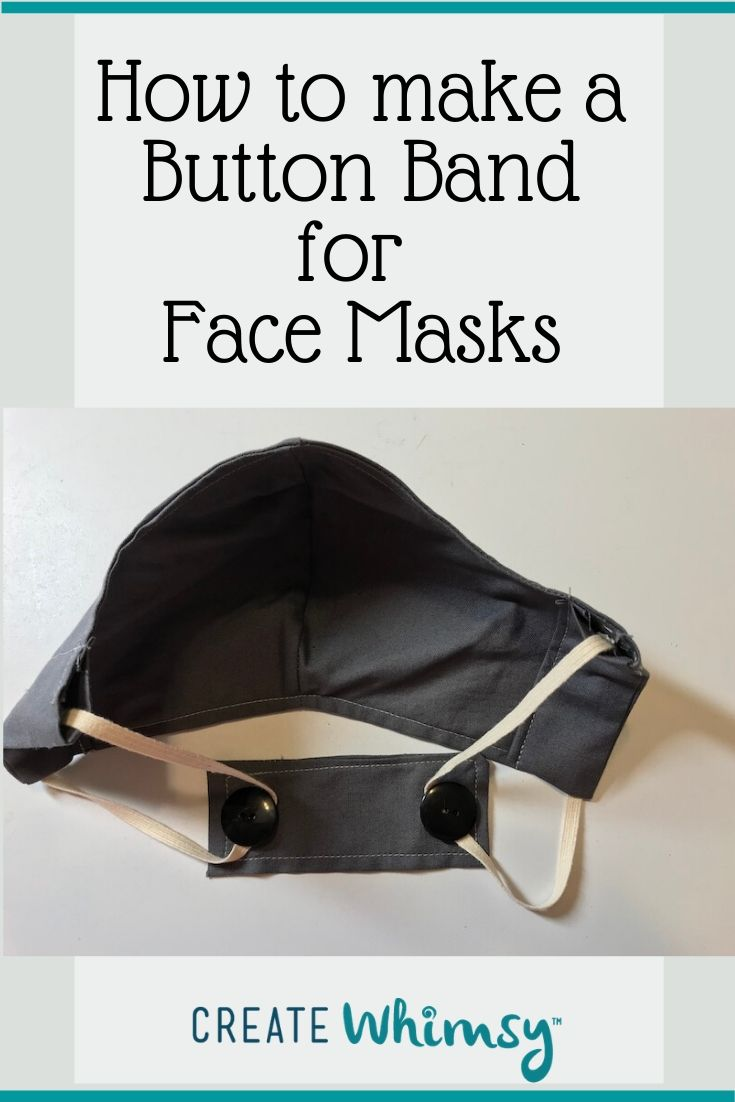 Photo of How to Make a Button Band for Face Masks | Create Whimsy