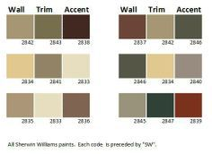 Craftsman House Colors Get Inspired With These Ideas Color Palette Sherwin Williams Paints