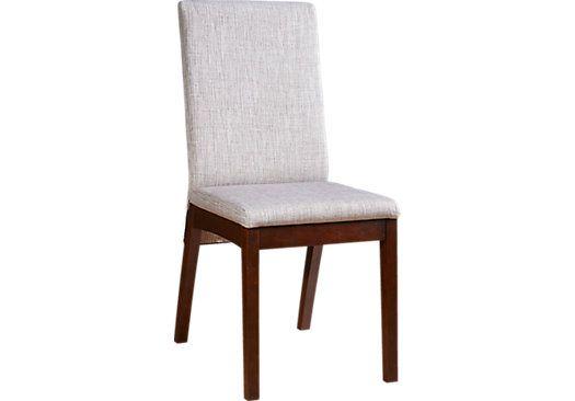 Bennett place merlot side chair dining sets