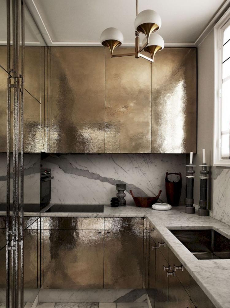 10+ Heavenly 80s Kitchen Remodel Basements Ideas #opengalleykitchen