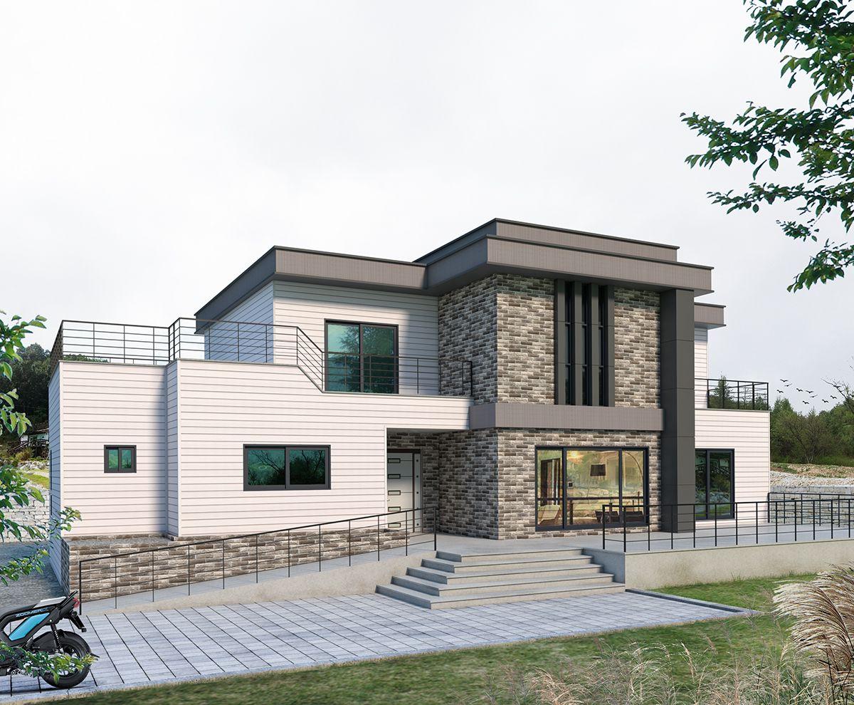 Cg파트너 홈 집 스타일 건축 건축 디자인