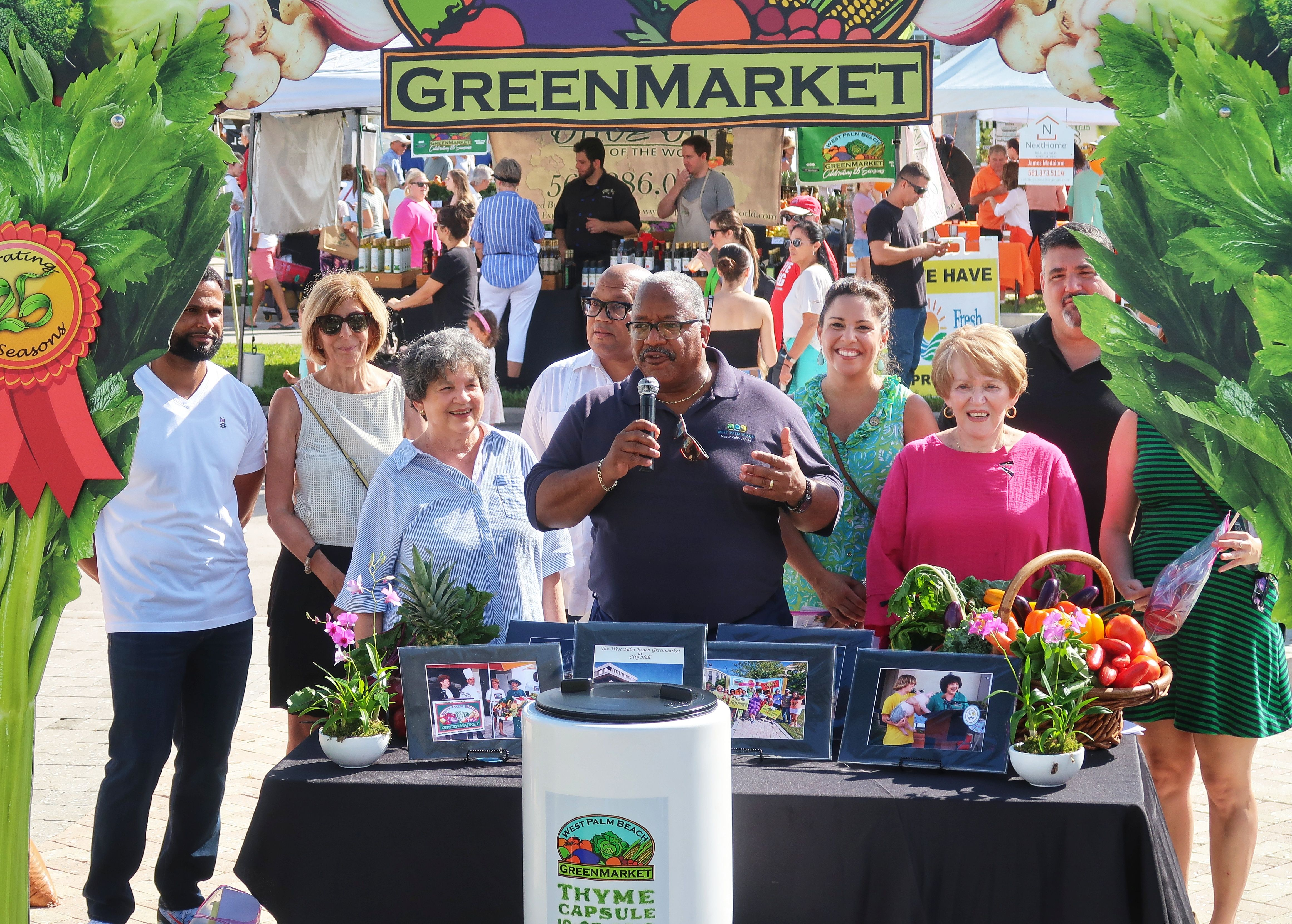 4 West Palm Beach Mayors Open The Green Market Ilovewpb West Palm Beach West Palm Palm Beach