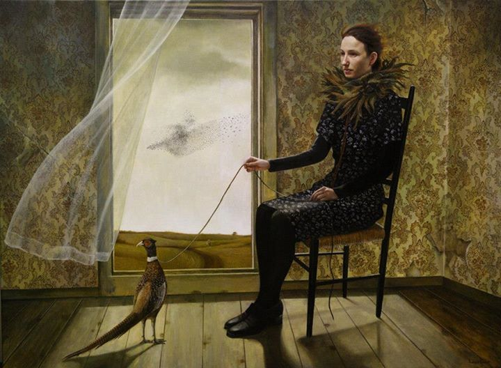 Pheasant Keeper by Andrea Kowch