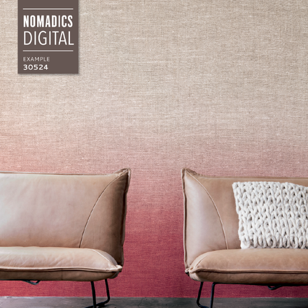 Ombre wallpaper, yes please! Nomadics 2015 - Home BN Wallcoverings