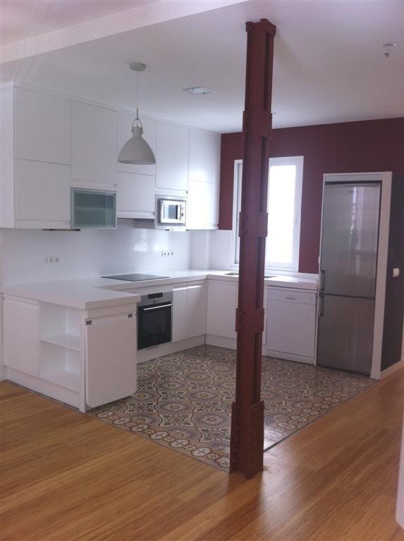 muebles de cocina lacados en blanco | Cocinas | Lacadas ...