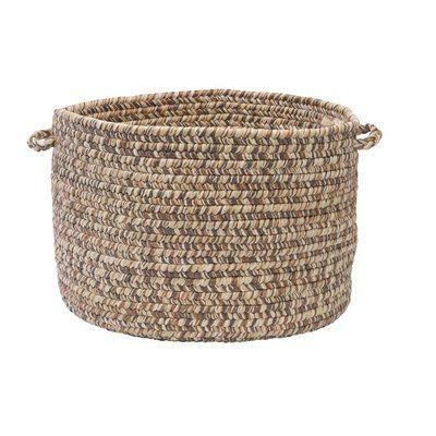 August Grove Plastic Utility Basket Size 10 H X 14 W X 14 D In 2020 Basket Storage Baskets Wicker