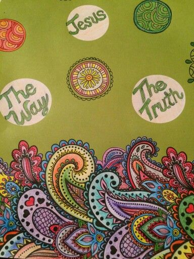 Crayola Colored Pencils & an awesome Adult coloring book! Colored By Rena Whitfield