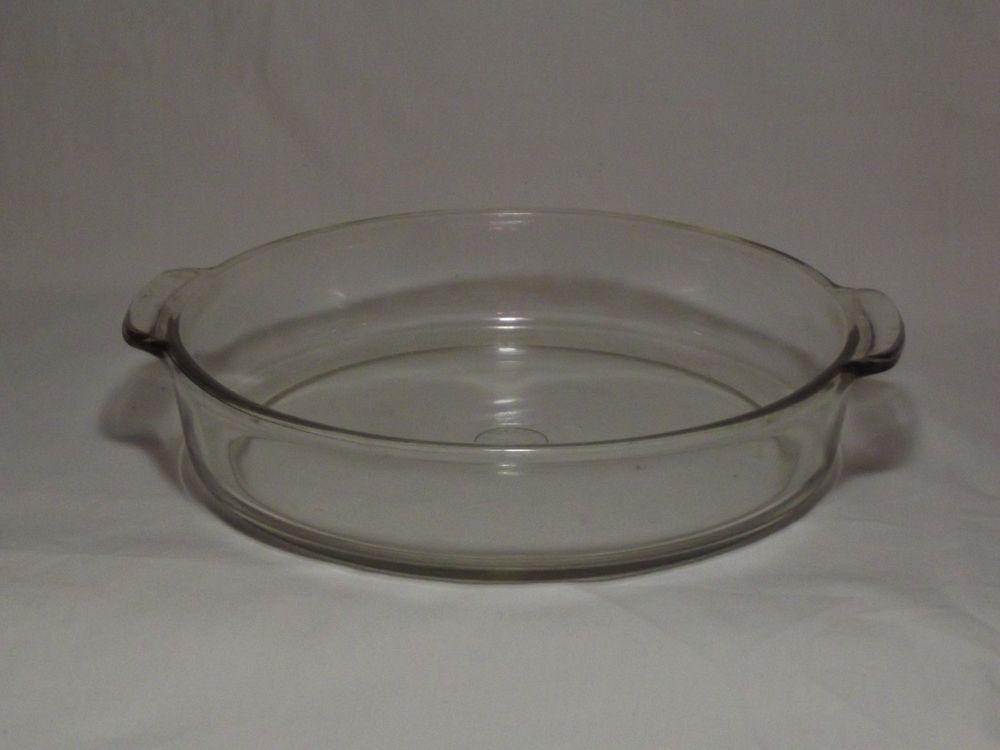 Vintage Pyrex 221 Pie Baking Dish 8 25 8 1 4 Inch Glass Pan