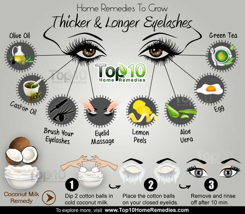 Home Remedies To Grow Thicker And Longer Eyelashes Do It Yourself