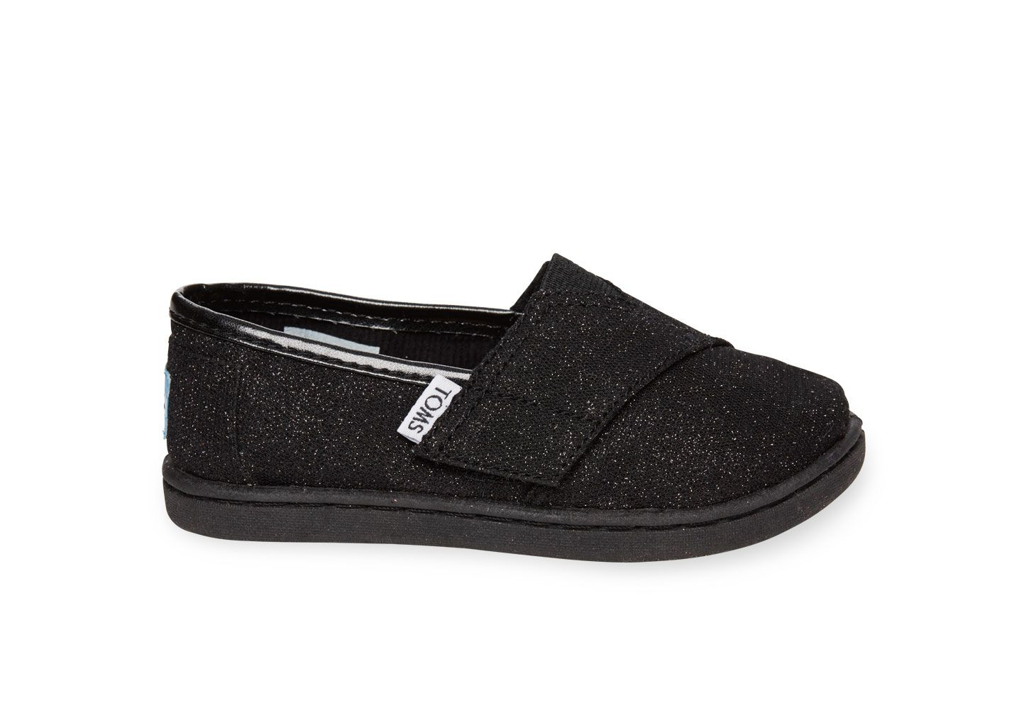 undefined Black Glimmer Tiny TOMS Classics
