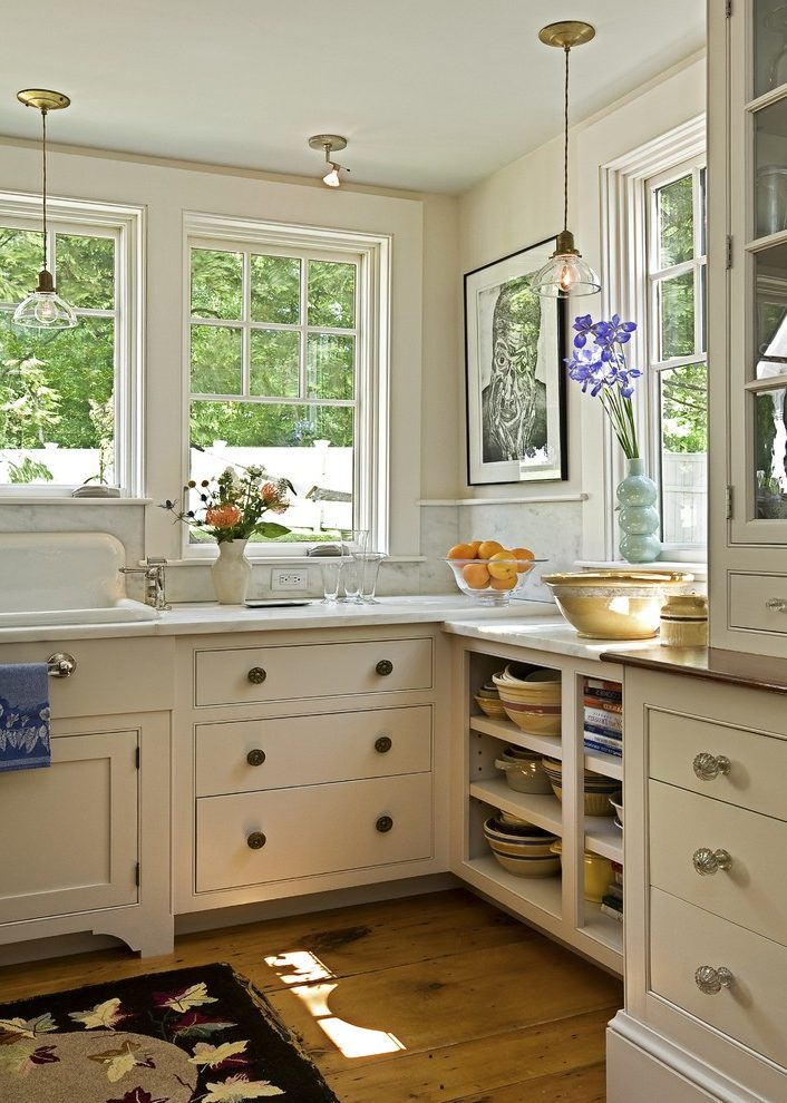 burlington Drawer Hardware kitchen traditional with marble